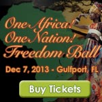 One Africa! One Nation! Freedom Ball